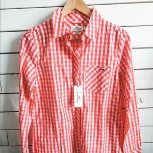 Vineyard Vines Women's Button Down Shirt